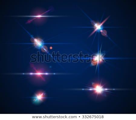セット 光 効果 レンズ パーティ 太陽 ストックフォト © SArts