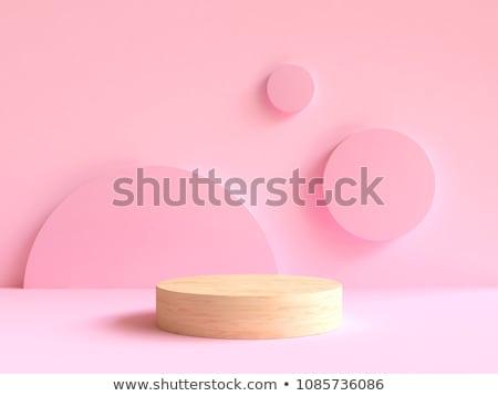 подиум мягкой розовый студию шоу галерея Сток-фото © SArts