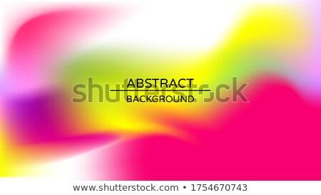 Płynnych płyn projektu kolorowy streszczenie wektora Zdjęcia stock © Diamond-Graphics