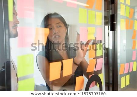 接着剤 · 注記 · オフィス · 表 · にログイン · 書く - ストックフォト © milanmarkovic78