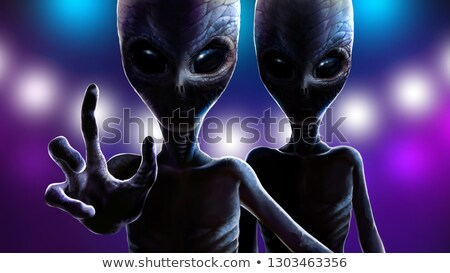 Frightened Mutants 2 Stock photo © AlienCat