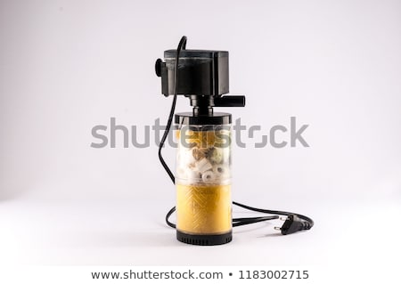 édesvíz akvárium szűrő izolált fehér felszerlés Stock fotó © robuart