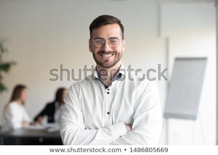 experienced businessman boss. successful business Stock photo © studiostoks