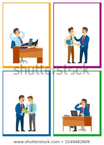 Pracy przerwie celu pracy pracy zadanie Zdjęcia stock © robuart