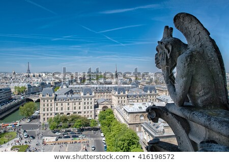 Paris cathédrale dame vue cityscape France Photo stock © artjazz