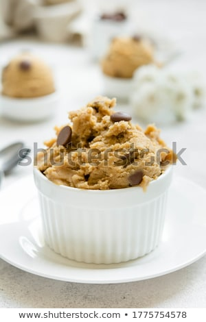 Ehető süti csokoládé sültkrumpli waffle tekercsek Stock fotó © BarbaraNeveu