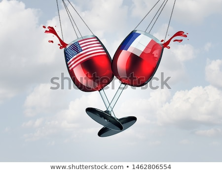 French Tax USA Tariff War Stock photo © Lightsource