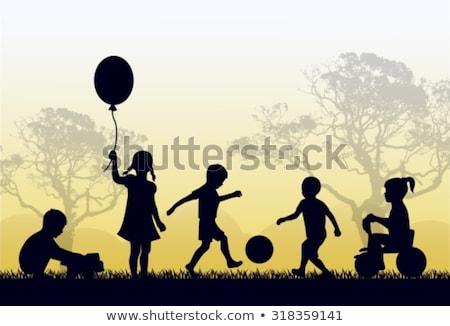 çocuklar · erkek · keşiş · futbol · örnek · çocuk - stok fotoğraf © robuart