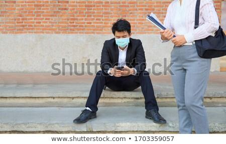 Iş arama ekonomik depresyon labirent labirent metin Stok fotoğraf © OutStyle