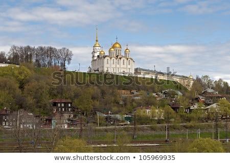 Bouwkundig ontwerp kathedraal christelijke orthodox kerk Stockfoto © Glasaigh