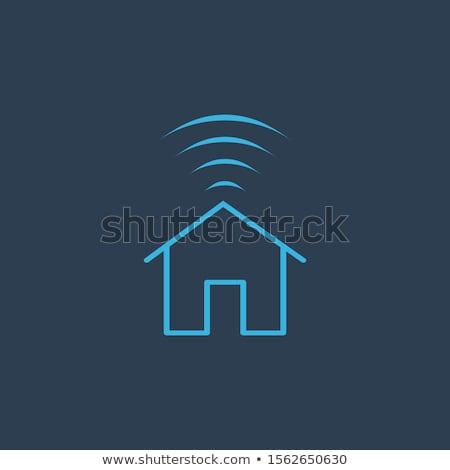 Akıllı ev Internet ev wifi stok Stok fotoğraf © kyryloff