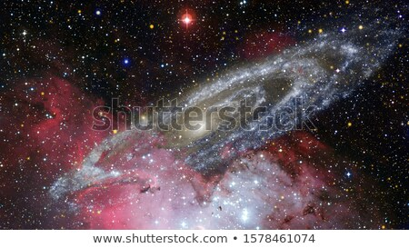 Giant spiral disk of stars. Elements of this image furnished by NASA Stock photo © NASA_images