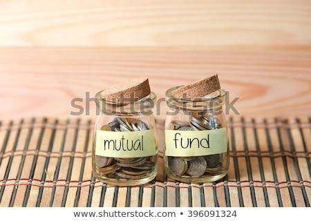 financeiro · risco · diferente · azul - foto stock © johnkwan