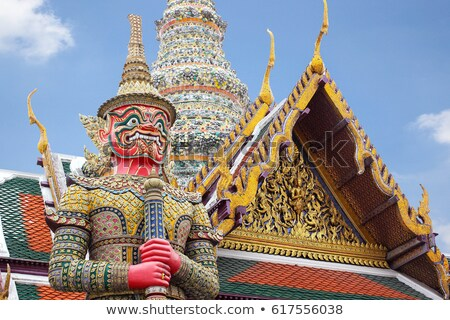 Demon Guardian in Bangkok Stock photo © bloodua