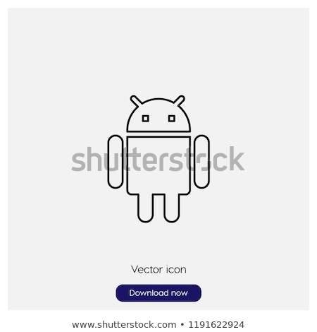 Humanoids and Androids, Robots Collection Vector Stock photo © robuart