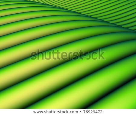 3d render zöld cső tájkép tavasz absztrakt Stock fotó © Melvin07
