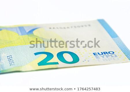 Makro atış euro odak iyi Stok fotoğraf © KonArt