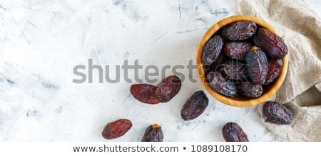 datolya · gyümölcs · köteg · friss · aszalt · randevú - stock fotó © angelsimon