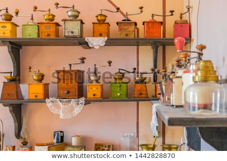 Old coffee mill Stock photo © premiere