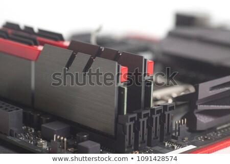 wysoki · wydajność · cyfrowe · niebieski · kolor · tekst - zdjęcia stock © gewoldi