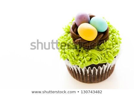 fancy easter cupcake stock photo © aladin66