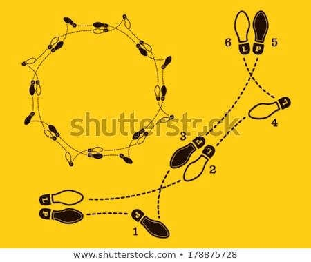Dans ayaklar insanlar dans mutlu Stok fotoğraf © Imagecom