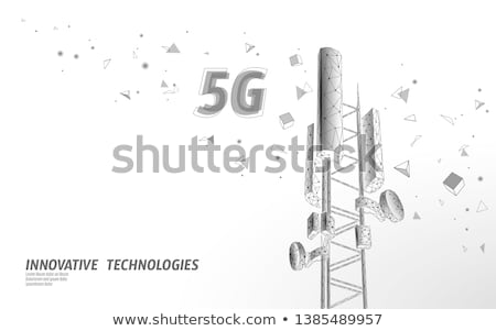 Mobile phone base station Stock photo © bbbar