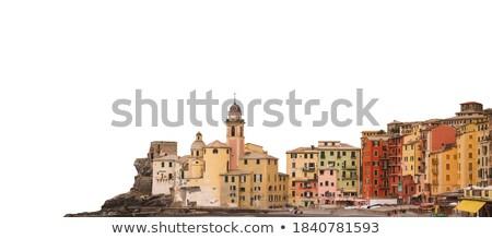Templom ősi bazilika híres kisváros égbolt Stock fotó © Antonio-S