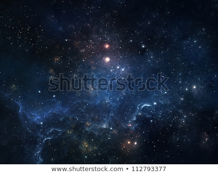 Сток-фото: Nebula Gas Cloud In Outer Space