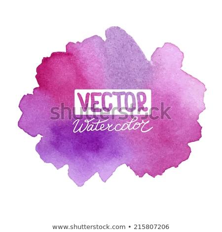 Template design on purple background. EPS 8 Stock photo © beholdereye