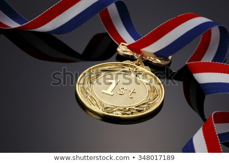 race   sports competition gold medal stock photo © iqoncept