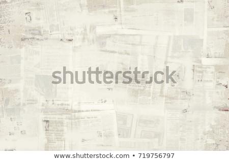 newspaper wallpaper stock photo © Pavel Losevsky (Paha_L ...