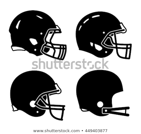 American football helmet stock photo © vladacanon