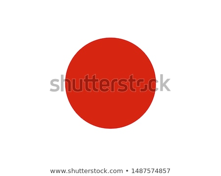 Japonya · bayrak · ikon · yalıtılmış · beyaz · Internet - stok fotoğraf © zeffss