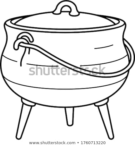 cast iron pot Stock photo © zkruger