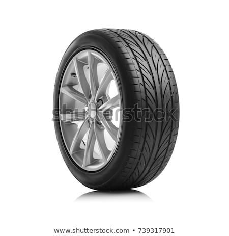 Car wheels Stock photo © ozaiachin