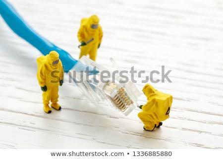 Technikai probléma csavarkulcs franciakulcs leragasztott fogaskerék Stock fotó © Stocksnapper