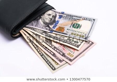 ドル · ノート · 黒 · 白 - ストックフォト © leeavison