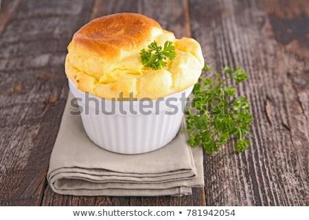 gourmet cheese souffle Stock photo © M-studio