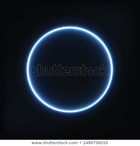 Space violet eclipse black vector background. Stock photo © lenapix