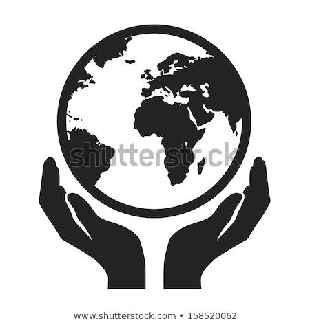 рук WWW сфере знак белый Сток-фото © kbuntu