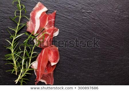 meat delicatessen on the board Stock photo © shutswis