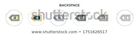 ノートパソコンのキーボード · ベクトル · 文字 · ボタン · 孤立した · 白 - ストックフォト © redkoala