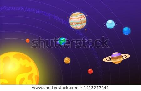 solar sytem stock photo © dagadu