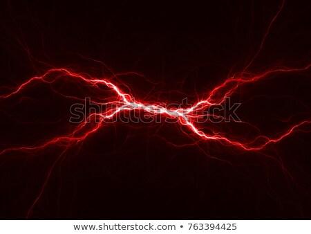 red lightning Stock photo © marinini