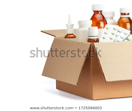 medicine and medication stock photo © lightsource