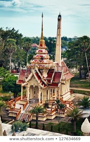 寺 プーケット タイ 垂直 パノラマ 建物 ストックフォト © pzaxe