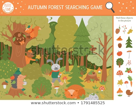Animal Puzzle (illustration) Stock photo © UPimages