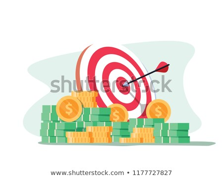 hitting the money target stock photo © iqoncept