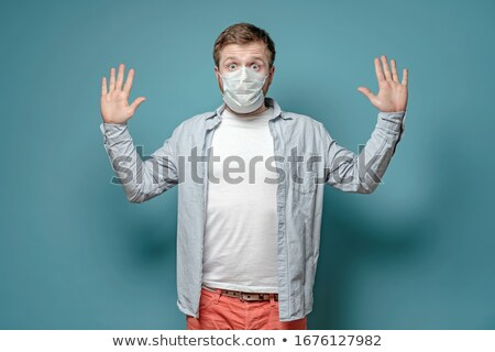 Frightened Germs Stock photo © cteconsulting